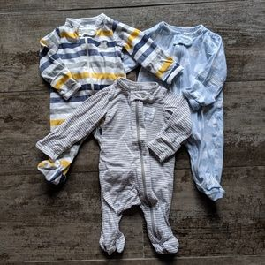 Carter's Just One You Newborn Zip Up Sleeper
